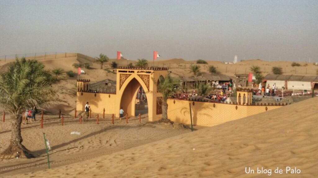 Campamento en el desierto, Dubai