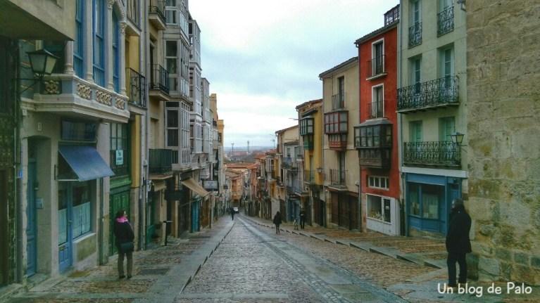 Calle de Balborraz, Zamora