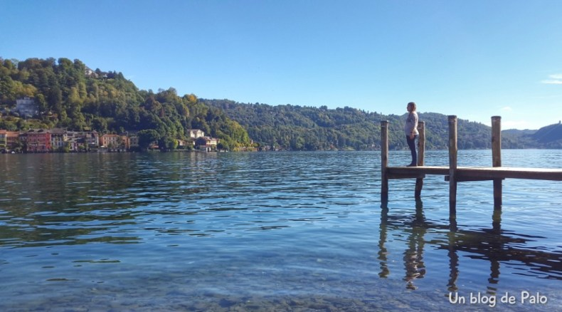 Isla de San Giulio en el lago de Orta