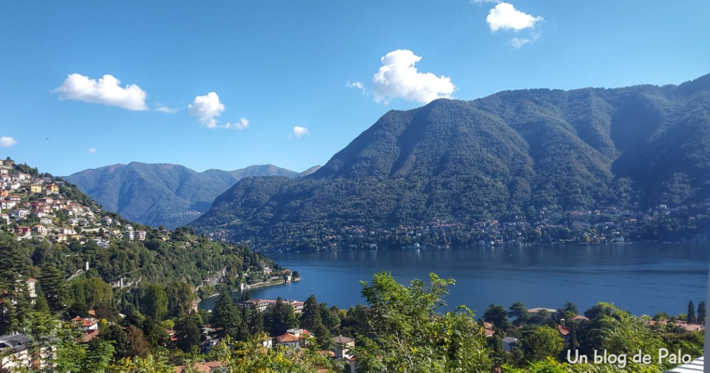 Vistas del Lago de Como tres lagos italianos del norte