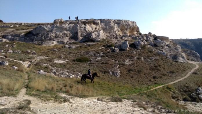 Aspecto del parque de la Murgia en Matera