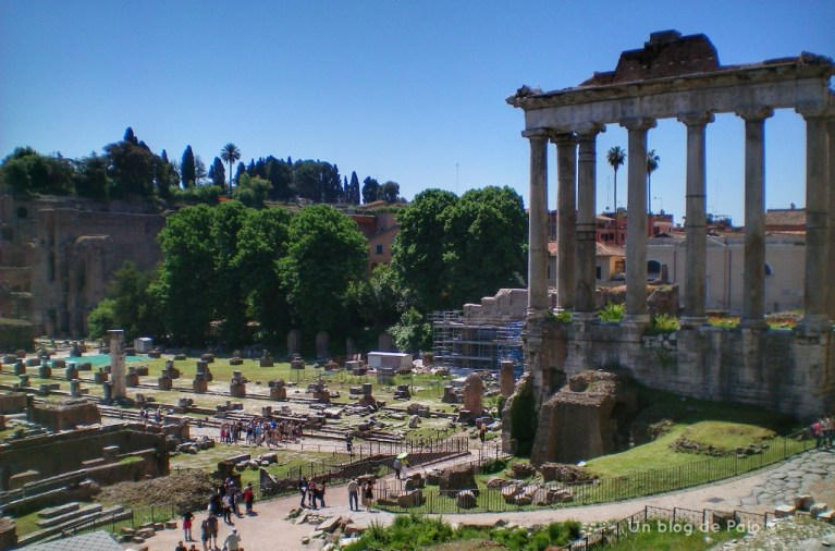 Vista de los Foros romanos