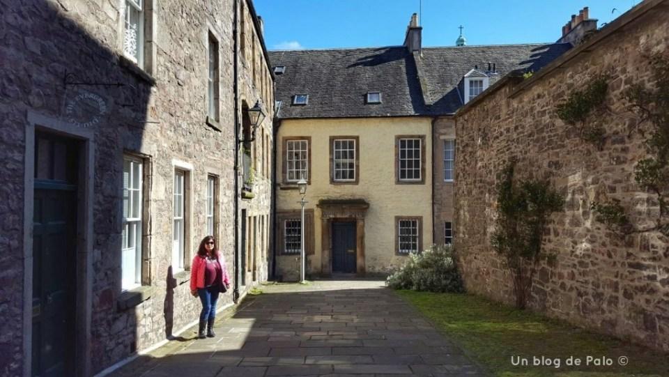 Escenarios de Outlander en Edimburgo