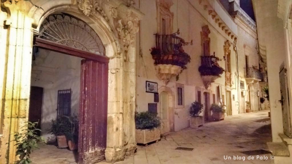 Palacio Morelli en Locorotondo