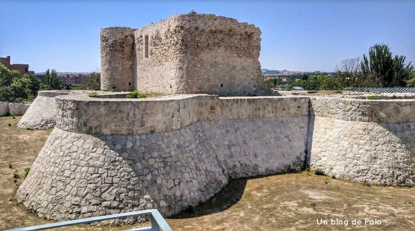 Vistas del Castillo de la Alameda de Osuna