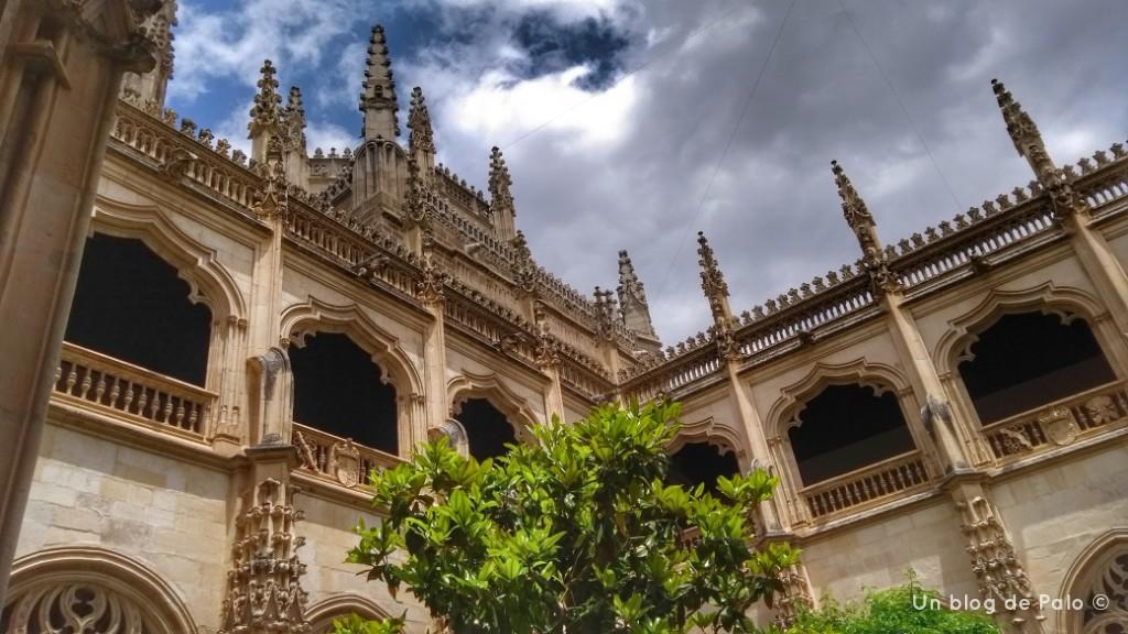 Claustro de la Iglesia de San Juan de los Reyes en Toledo