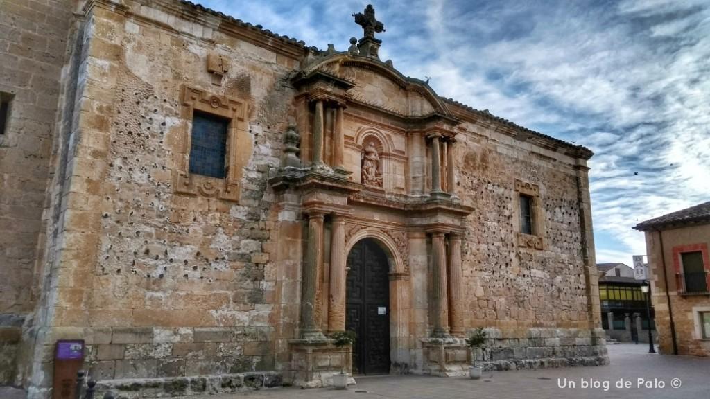 Iglesia de Vadocondes en la Ribera del Duero Burgos