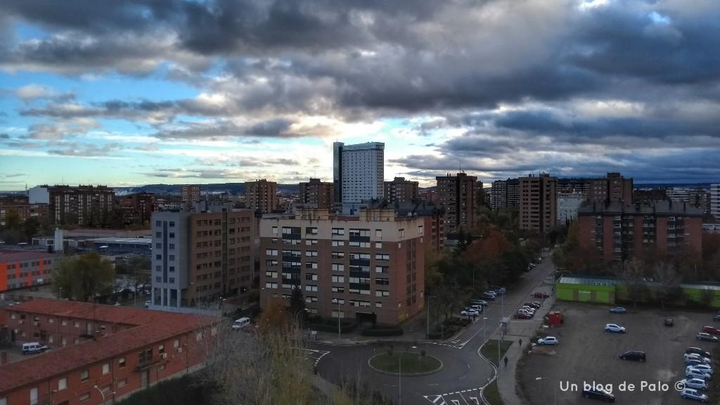 Vistas desde el hotel NH Bálago de Valladolid