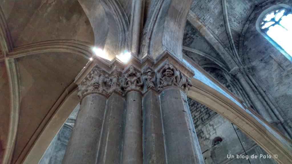 Capiteles de la iglesia de San Pablo