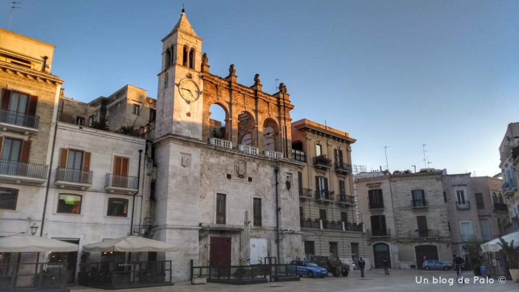Piazza Ferrarese en Bari