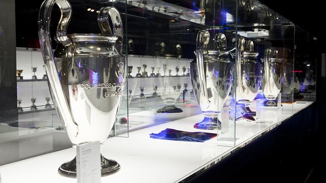 Sala de Trofeos de FC Barcelona