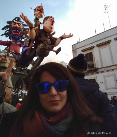 Palo en el Carnaval de Putignano