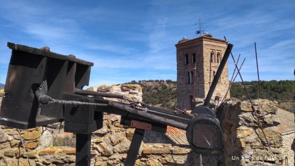Vistas de la Iglesia desde la muralla