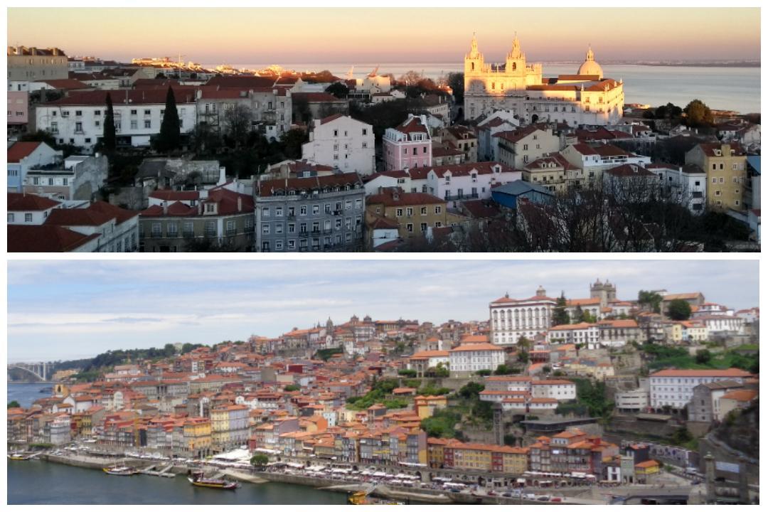 Oporto o Lisboa ¿Elegir una? ¿Por qué?