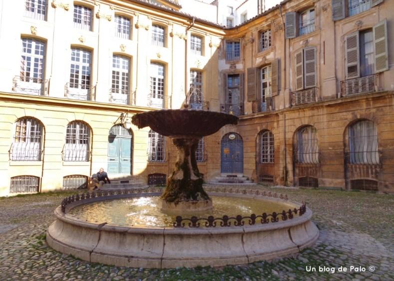 Plaza de Albertas, Aix en Provence