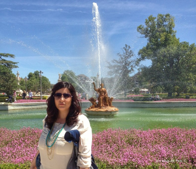 Palo en los jardines de Aranjuez