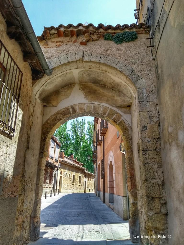 Calles del centro de Segovia