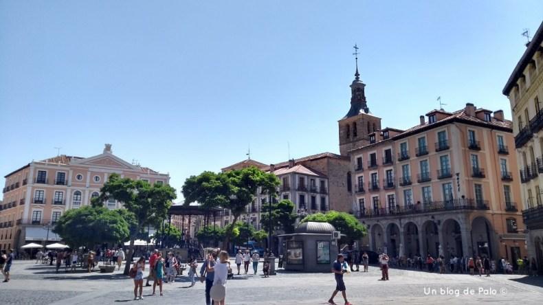 Plaza Mayor de Segovia