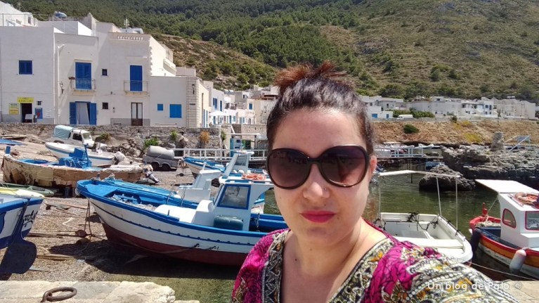 Palo en el puerto de Marettimo