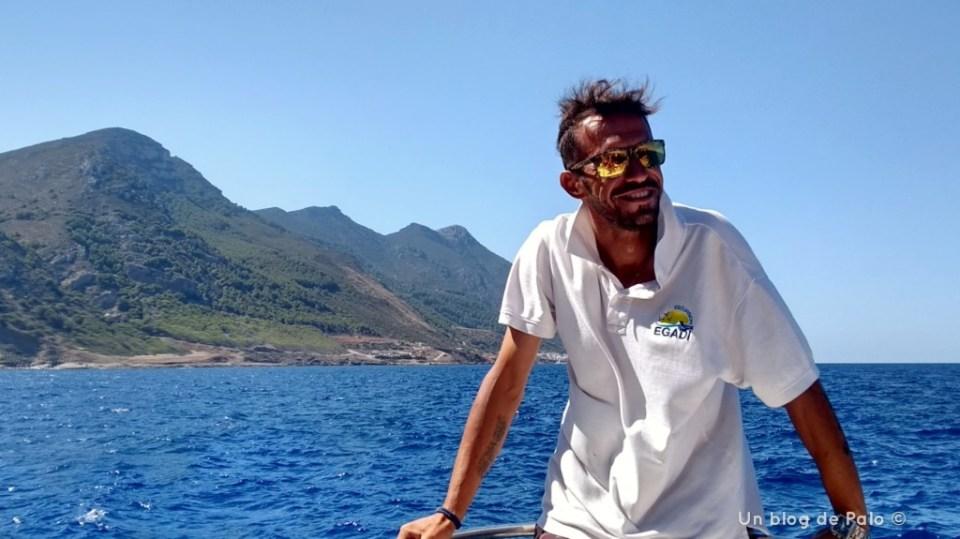A bordo del Marabú de Egadi Escursioni