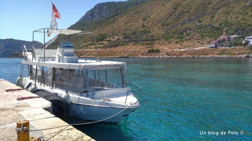 El Marabú, una pequeña embarcación para una excursión sin aglomeraciones