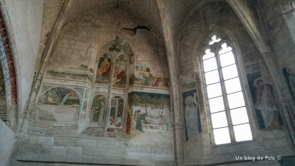 Frescos Abadía Villeneuve Lez Avignon