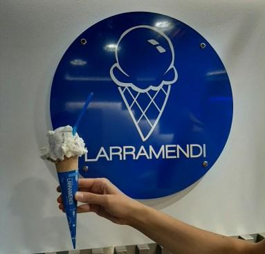 tomar un helado en Pamplona