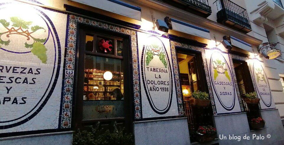 Taberna La Dolores en Madrid