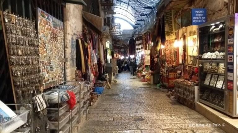 El gran zoco de Jerusalén