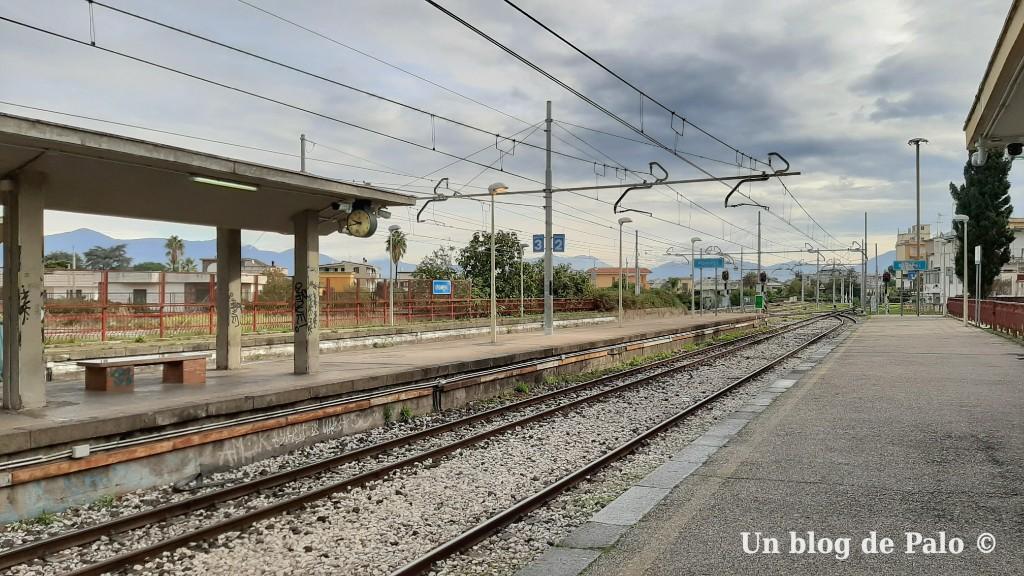 Estación de Pompeya en Nápoles