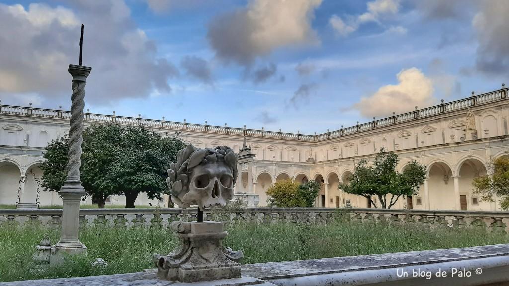 Patio de la Cartuja de San Martin en el Vomero, Nápoles