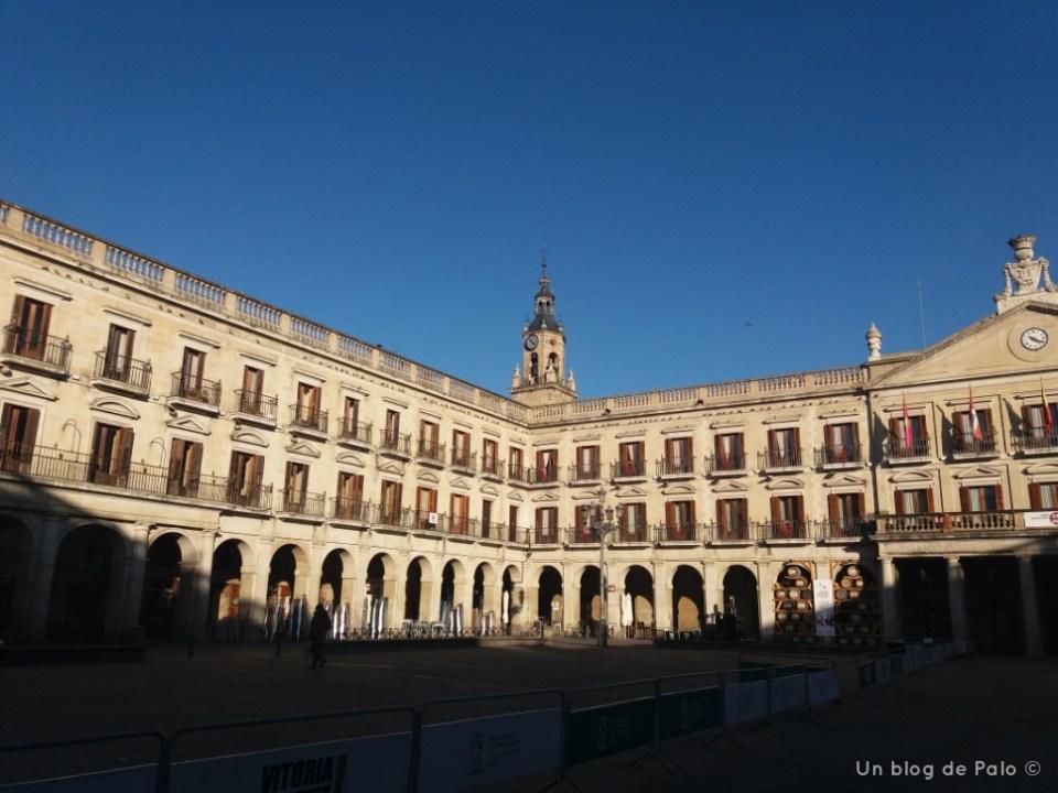 Plaza de España en Vitoria