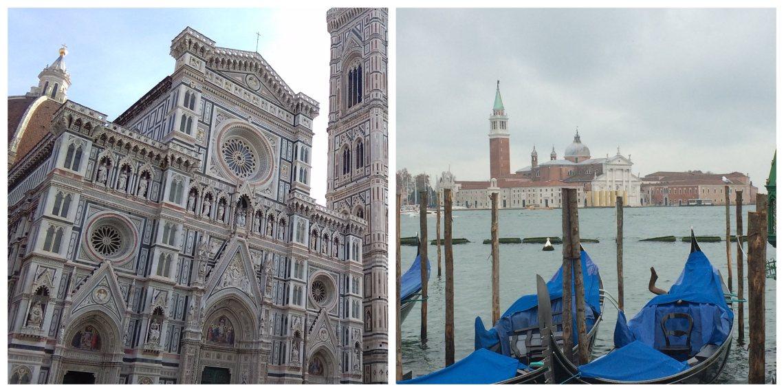 Venecia o Florencia a cuál viajar