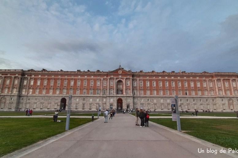 Palacio Real de Caserta fachada