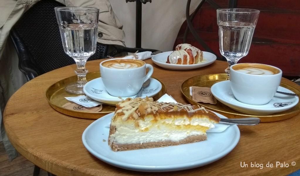 Nuestro desayuno en Bratislava
