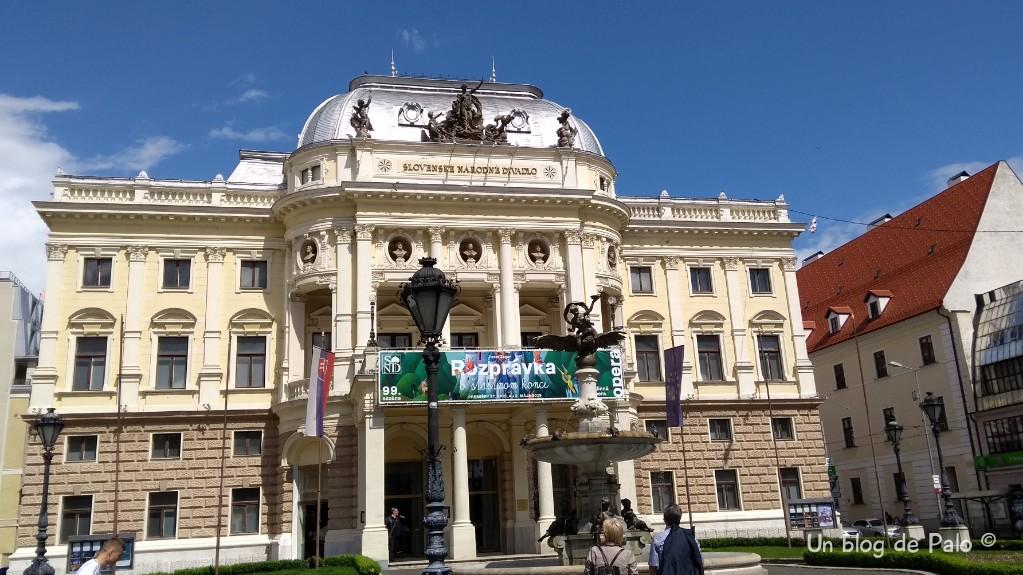 Teatro de la Ópera en Bratislava