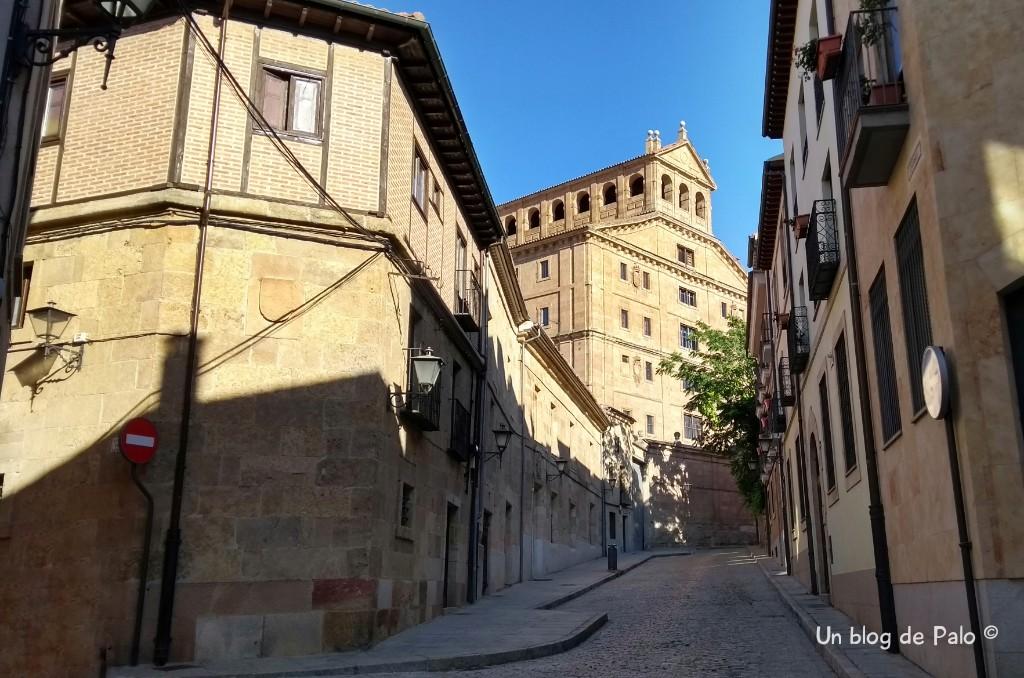 Calle Serranos en Salamanca