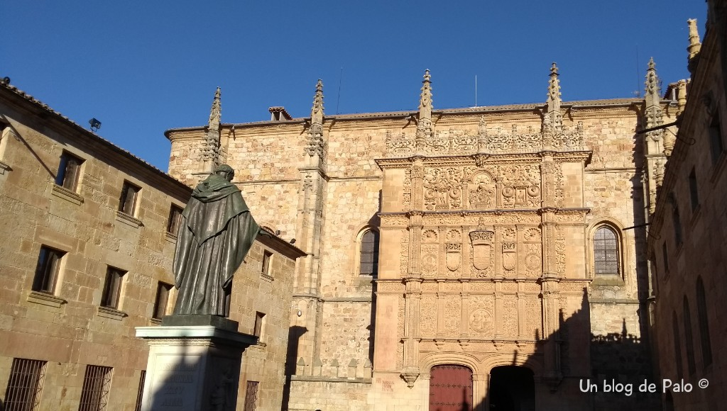 Un paseo por Salamanca: Mientras dure la guerra