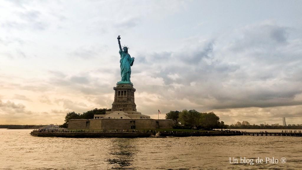 Vistas de la Estatua de la Libertad en Nueva York