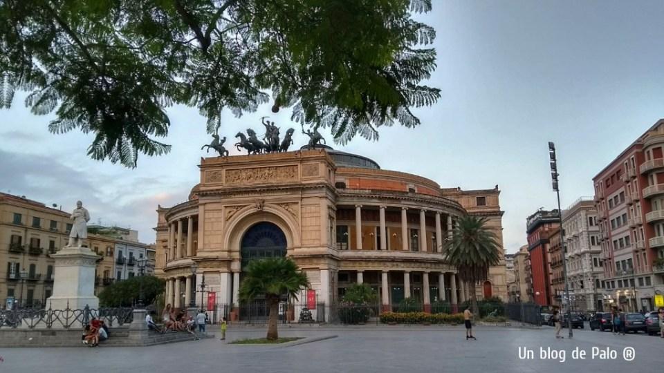 Teatro Politeama Garibaldi en Palermo