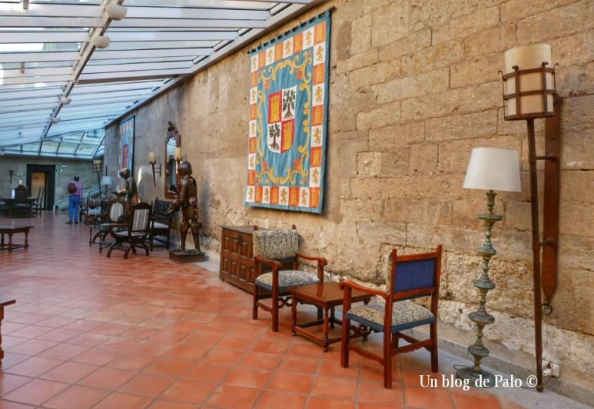Interior del Parador de Ciudad Rodrigo