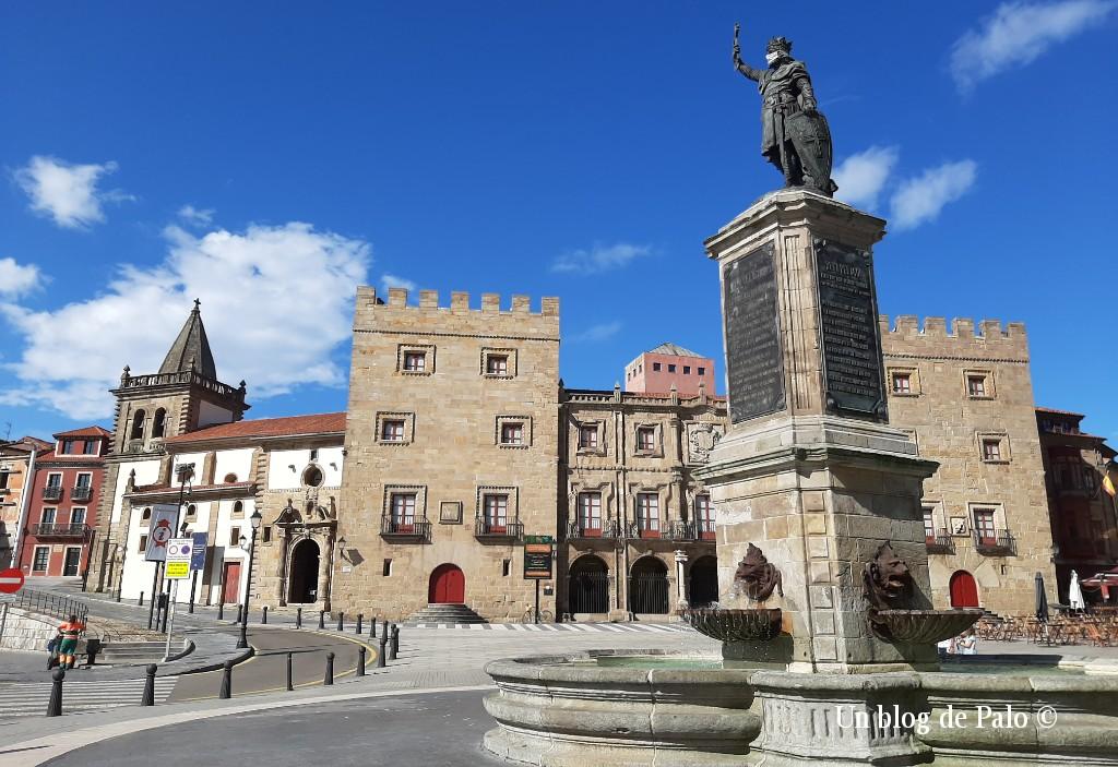 Un día soleado en Gijón