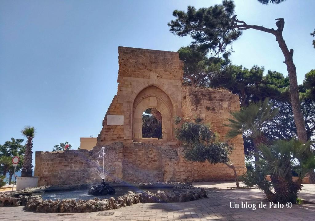 Arco normando en Mazara del Vallo