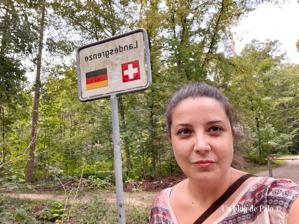 Frontera entre Alemania y Suiza