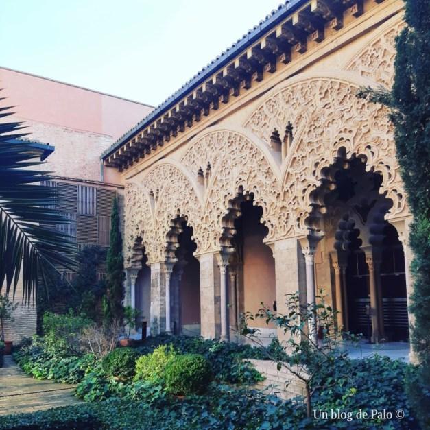 Interior de la Alfajería de Zaragoza