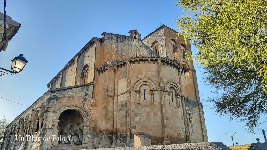 La iglesia del Salvador en lo alto de Sepúlveda