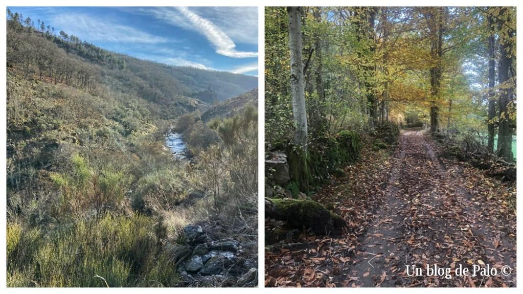 Senderos y caminos junto al Río Francia