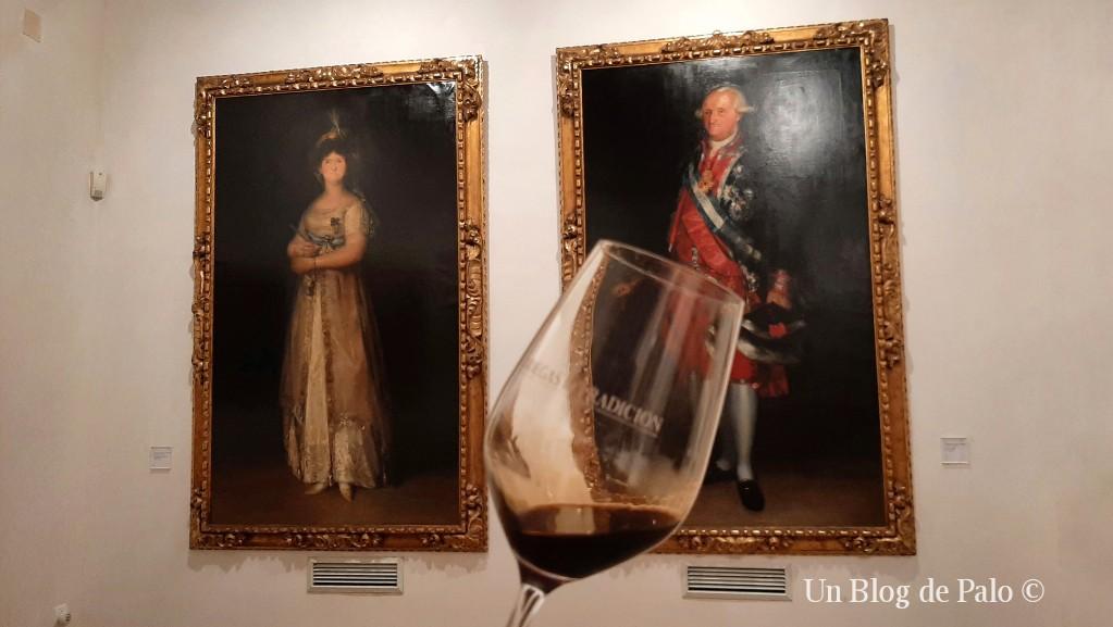 Pedro Ximénez y Goya ¿combinación mejor?