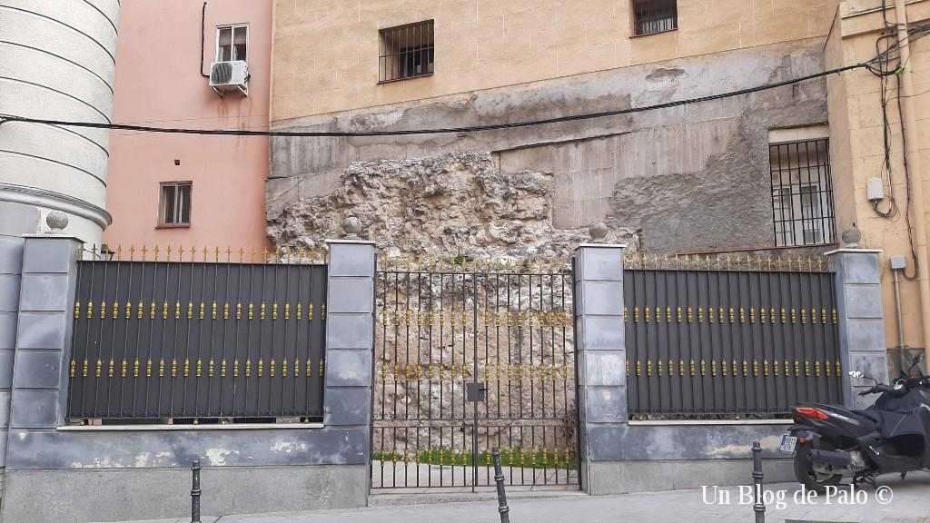 Muralla cristiana en la Calle de Los Mancebos