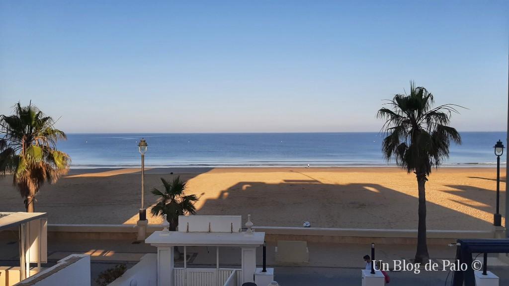 Vista de la playa de Regla desde el Hotel Monterrey Costa